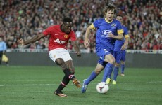 Wayne who? Lingard stars as United seal first win under Moyes in Sydney