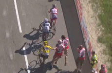 Chris Froome lashes out at fan at Tour de France