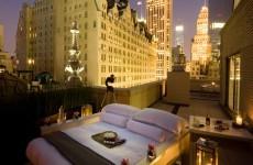 Latest New York hotel craze? The 'outdoor bedroom'