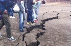 Pacific tsunami: Eyewitnesses upload photographs