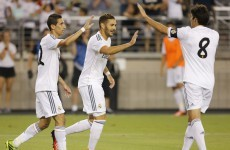 Real Madrid v LA Galaxy gave us these 3 gorgeous goals