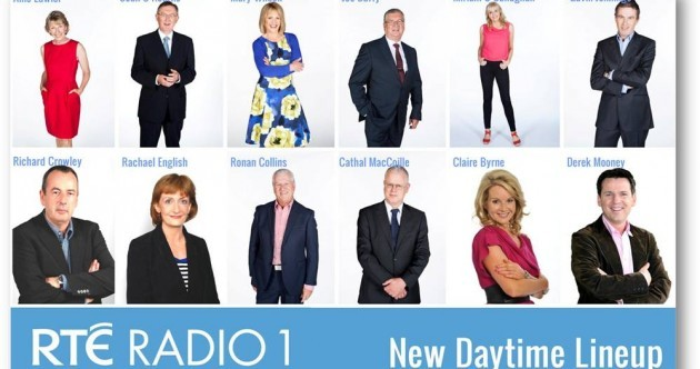 Sean O'Rourke replaces Pat Kenny and Claire Byrne joins Morning Ireland