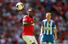 Analysis: Danny Welbeck fills the Rooney role with aplomb