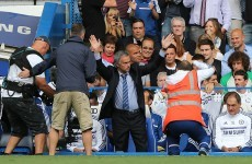 Jose Mourinho overwhelmed by Chelsea reception