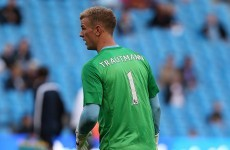 Joe Hart pays jersey tribute to late goalkeeper Bert Trautmann