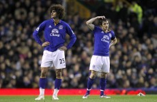 Man United will now bid separately for Baines and Fellaini