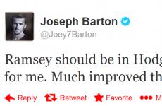 Deary me, Joey! It's the sporting tweets of the week