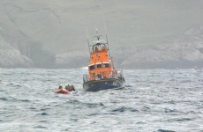 Pics: Four rescued off Achill after attaching boat to lobster pots to avoid being wrecked