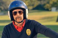 Dirt bikes and a handlebar moustache in the greatest golf advert ever