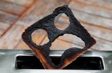 The Burning Question*: Do you scrape burnt toast into the sink or the bin?