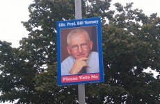 Fine Gael councillor erects posters calling for No vote in Seanad referendum