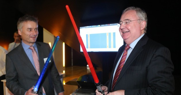 PICS: Pat Rabbitte has got a lightsaber and he's not afraid to use it