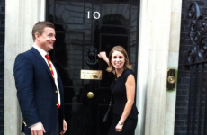 Amy Huberman nik naks number 10 Downing Street