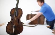 Titanic bandmaster's violin on display in Belfast