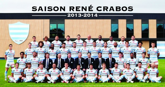 Snapshot: ROG and Jonny Sexton line out for Racing Metro squad picture