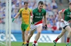 Cillian O'Connor named in Mayo team for All-Ireland final