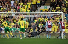 Premier League wrap: Glorious Guzan save helps Villa hold on, Baines rescues Everton