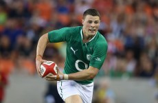 Kiss: Robbie Henshaw has every chance of becoming Ireland's future 13