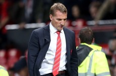 Brendan Rodgers rues lapse in concentration as Reds dumped out at Old Trafford