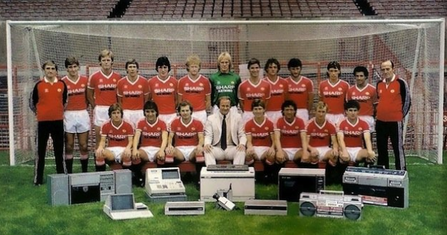 Your retro Manchester United team photo of the day