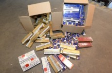 Almost 25,000 cigarettes seized by customs officers in Cork