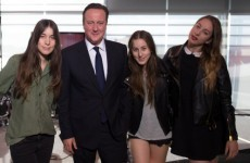 WATCH: Haim dedicate song to their newest fan… David Cameron