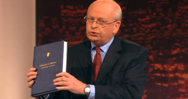 McDowell's big book and 17 tweets from last night's Seanad referendum debate