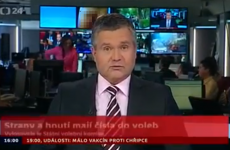 Penis makes surprise appearance on TV news broadcast (NSFW)