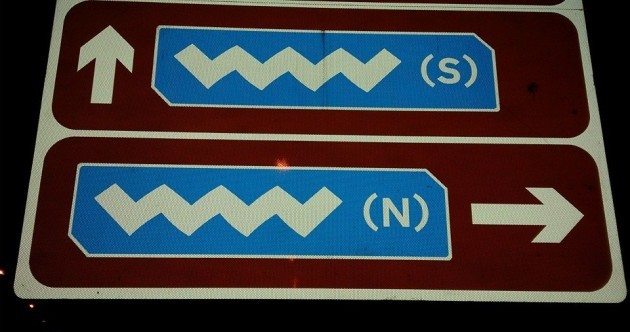 What exactly does this road sign mean?