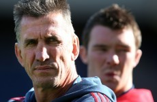 Penney calls on Munster to 'restore pride in the jersey' after Edinburgh loss