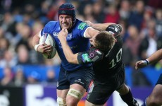 Sean O'Brien showing that he has become the complete openside for Leinster