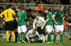 Darron Gibson's season could be over after knee injury
