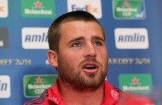 CJ Stander ready to show his starting credentials for Munster