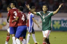 Javier Hernandez fluffs simple chance, nearly costs Mexico World Cup play-off place