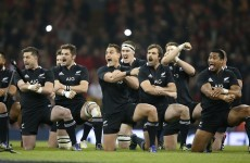 Tickets sold out for All Blacks test in November
