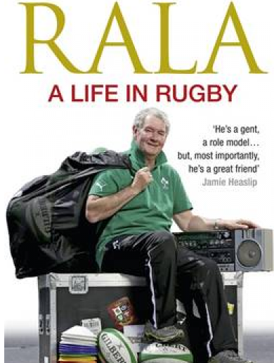 The cover of Rala's new book is pretty epic
