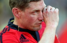 'It was a love affair' – Ronan O'Gara on his time with Munster