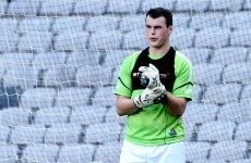 Irish goalkeeper urges people to seek help with mental health issues