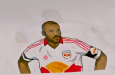 The Thierry Henry flipbook is fantastic