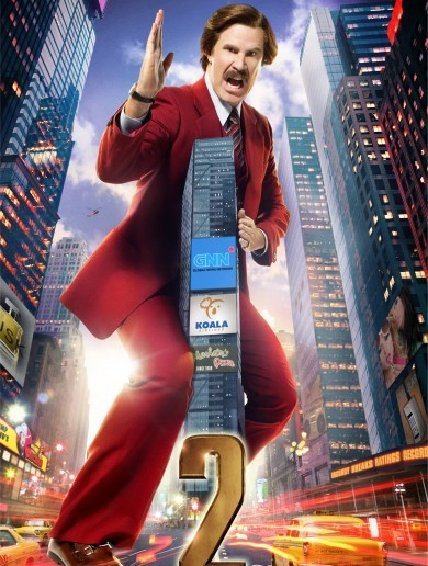 Check out the posters for Anchorman 2!