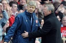 Wenger admits Man United clash will be 'strange' without old foe Ferguson