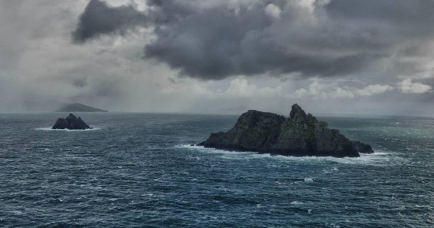 Irish Air Corps capture great shots of wintery Skellig Islands