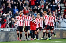 Rejuvenated Sunderland stun Manchester City