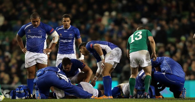 Samoan duo 'recovering well' after sickening clash