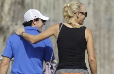 Solid start for McIlroy as Wozniacki watches on in Dubai