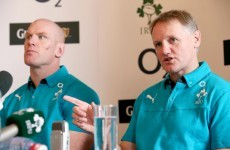 Schmidt looks to build Irish squad to '30 or 35′ international class players
