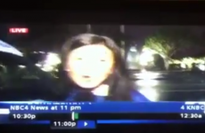 This TV news report about a rain shower will blow any Irish person's mind