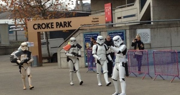 So… why are there Stormtroopers outside Croke Park?