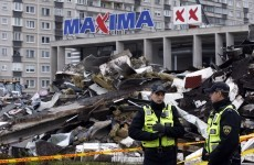 Security concerns delay search of Riga store wreckage