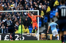 Man City cruise over Spurs after Navas' first-minute opener